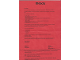 Gear No: 9900400  Name: Inventory and Form Sheet Included with Set 9550-3