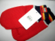 Gear No: 990186  Name: Mittens, Knit with Striped Cuffs and LEGO Logo