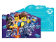 Gear No: 9904647  Name: Party Invitations, The LEGO Movie 2 - 8 with Envelopes
