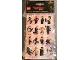 Gear No: B51951  Name: Sticker, The LEGO Ninjago Movie, Set of 4 Sheets
