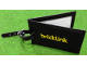 Gear No: BLtag  Name: Bag / Luggage Tag, BrickLink with Buckle Strap