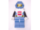 Gear No: Bathbottle2  Name: Bath and Shower Foam, Aquanaut Minifigure White