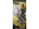 Gear No: BioGlaBan5  Name: Display Flag Cloth, Bionicle Glatorian Legends Yellow, Mata Nui
