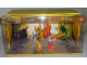Gear No: BioGlaLegAMLS2  Name: Display Assembled Set, Large Plastic Case Light and Sound with Bionicle Glatorian Legends (shows 8984, 8985, 8986, 8989)