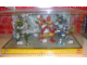 Gear No: BioIniAMLS1  Name: Display Assembled Set, Large Plastic Case Light and Sound with Bionicle Inika (shows 8727, 8728, 8729, 8730, 8731, 8732)