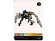 Gear No: BioLAM102  Name: Bionicle Lamincard 102