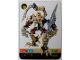Gear No: BioMOL091  Name: Bionicle Game Card VOROX 91