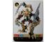 Gear No: BioMOL091  Name: Bionicle Game Card VOROX 91