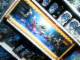 Gear No: BioMahAMLS1  Name: Display Assembled Set, Large Plastic Case Light and Sound with Bionicle Mahri, Hydraxon, Gadunka, Karzahni (shows 8910, 8911, 8913, 8914, 8922, 8923, 8940)