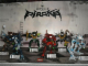 Gear No: BioPirAMLS1  Name: Display Assembled Set, Large Plastic Case Light and Sound with Bionicle Piraka (shows 8900, 8901, 8902, 8903, 8904, 8905)