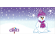 Gear No: Clikits261pb03  Name: Clikits Christmas Card with 3 Holes, Snowman Pattern