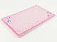 Gear No: Clikits309  Name: Memo Pad Clikits - Pink with Dark Pink Border and Heart, Star and Daisy in the Corners - 25 Sheets