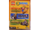 Gear No: DCG902859  Name: 3 LEGO PC Games (Insel 2 - Rock Raiders - Racers) (German Version)