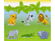 Gear No: DPLB04  Name: Duplo Picture Lottery Game Board, Zoo