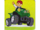 Gear No: DPLC04  Name: Duplo Picture Lottery Game Card, Farm Four Wheeler