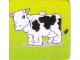 Gear No: DPLC06  Name: Duplo Picture Lottery Game Card, Farm Cow