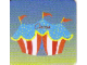 Gear No: DPLC07  Name: Duplo Picture Lottery Game Card, Circus Tent