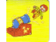 Gear No: DPLC10  Name: Duplo Picture Lottery Game Card, Circus Human Cannon Ball