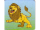 Gear No: DPLC21  Name: Duplo Picture Lottery Game Card, Zoo Lion