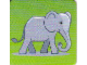 Gear No: DPLC22  Name: Duplo Picture Lottery Game Card, Zoo Elephant