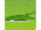 Gear No: DPLC23  Name: Duplo Picture Lottery Game Card, Zoo Alligator / Crocodile