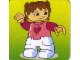 Gear No: DPLC28  Name: Duplo Picture Lottery Game Card, Stable Girl