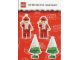 Gear No: Decor01  Name: Christmas Tree Decorations - Cardboard set of 2