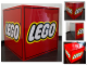 Gear No: DisplaySignLt07  Name: Display Sign Cube, Large, LEGO Logo, Lighted (220V)