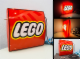 Gear No: DisplaySignLt08  Name: Display Sign Large LEGO Logo, Lighted, Double-Sided (220V)