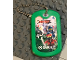 Gear No: Dogtag01  Name: Dog Tag, The LEGO Ninjago Movie Target Pattern