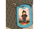 Gear No: Dogtag03  Name: Dog Tag, The LEGO Ninjago Movie Nya Pattern