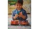 Gear No: DupLogBan15  Name: Display Flag Cloth, Duplo LEGO, Train