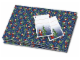 Gear No: GW563  Name: Gift Wrap & Tags, LEGO Holiday Minifigure