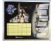 Gear No: Gstk003  Name: Sticker, Bionicle images with note spaces, 8 on 23cm x 19cm sheet