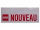 Gear No: Gstk007  Name: Sticker, 'NOUVEAU' Pattern, 15cm x 6cm