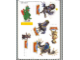 Gear No: Gstk008a  Name: Sticker, Legoland Billund and Movie 'Valiant' images, 6 on 15cm x 21cm sheet