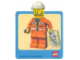 Gear No: Gstk009  Name: Sticker, Minifigure Construction Planner