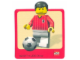 Gear No: Gstk010  Name: Sticker, Minifigure Football (Soccer) Player