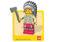 Gear No: Gstk011  Name: Sticker, Minifigure Indian Chief