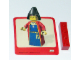 Gear No: Gstk012  Name: Sticker, Minifigure Knights Kingdom Maiden