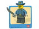 Gear No: Gstk016  Name: Sticker Sheet, Minifigure Cavalry Officer