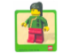 Gear No: Gstk019  Name: Sticker, Minifigure Jing Lee the Wanderer
