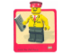 Gear No: Gstk022  Name: Sticker Sheet, Minifigure Railway Employee