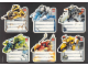 Gear No: Gstk035  Name: Sticker, School Book Labels (Bookplates) - Roboriders Sheet of 6