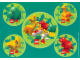 Gear No: Gstk069  Name: Sticker Sheet, Duplo Dino - Sheet of 5