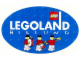Gear No: Gstk084  Name: Sticker Sheet, Legoland Billund with Ambassador Minifigures on Blue Ellipse
