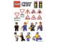 Gear No: Gstk089  Name: Sticker Sheet, City Sheet - Daily Mirror Promotional