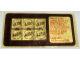Gear No: Gstk093  Name: Sticker, Golden Bricks Promotion Golden Studs 74 - Sheet of 6