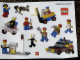Gear No: Gstk097  Name: Sticker Sheet, LEGO Collector Packs