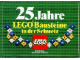 Gear No: Gstk098  Name: Sticker Sheet, 25 Jahre LEGO Bausteine in der Schweiz